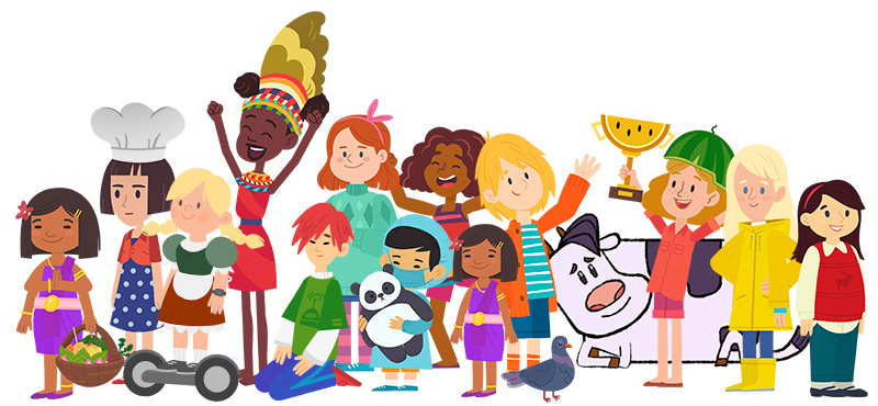 Minor characters from 'Cathy Quest'