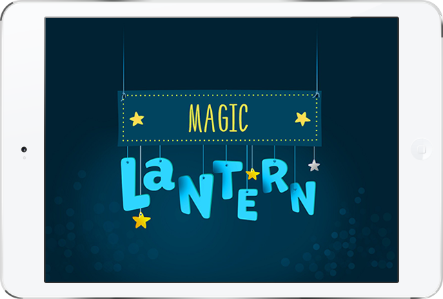 Game app based on «Magic Lantern» for iOS and Android