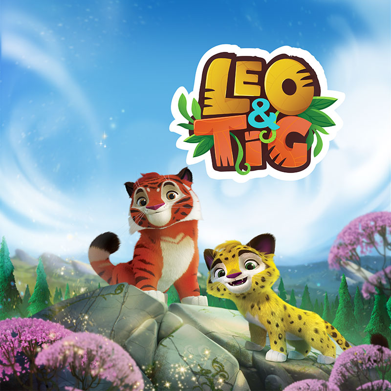 'Leo and Tig' cartoon poster