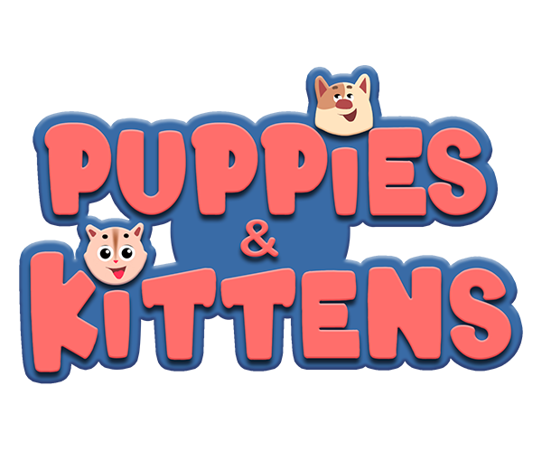 'Puppies and Kittens' logo