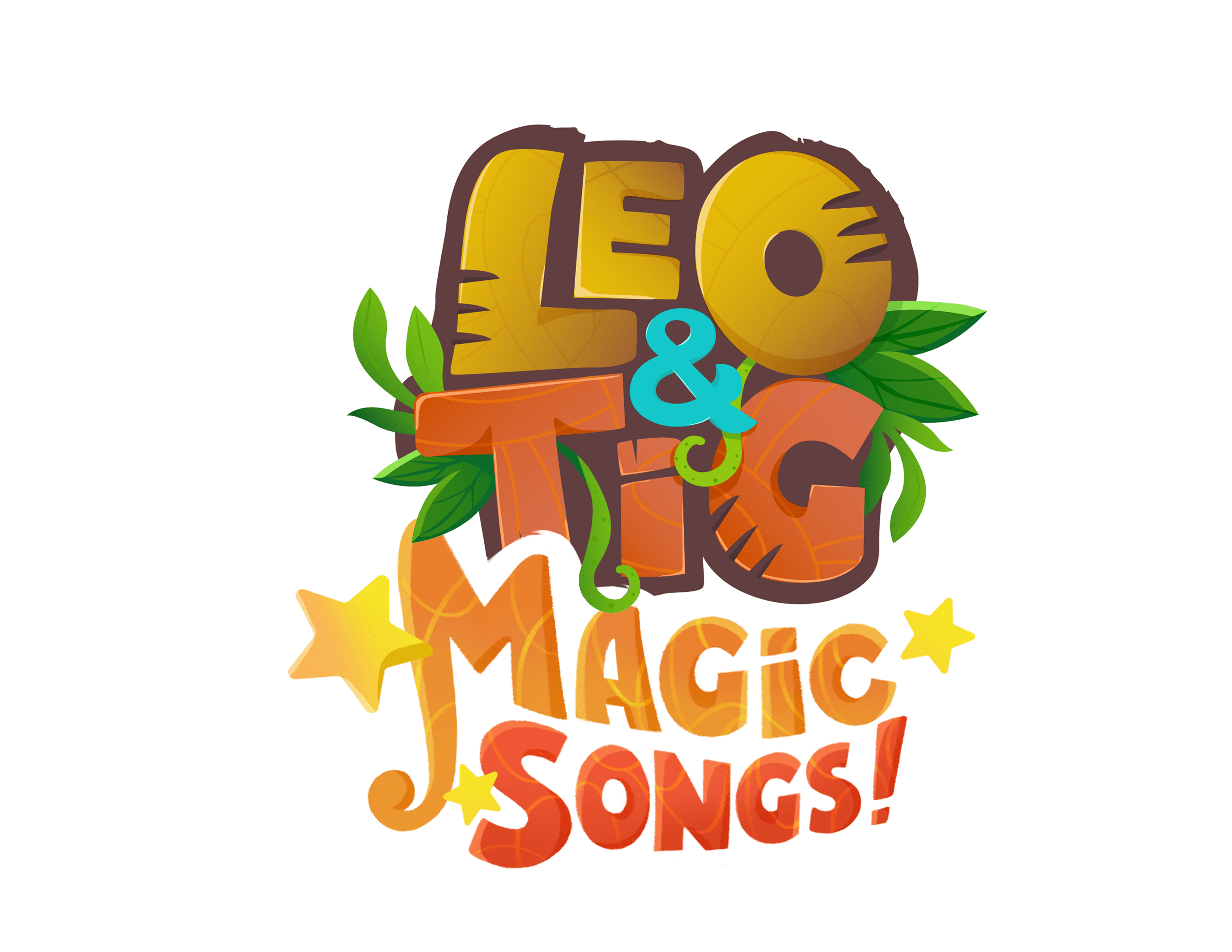 logo 'Leo and Tig. Magic Songs!'