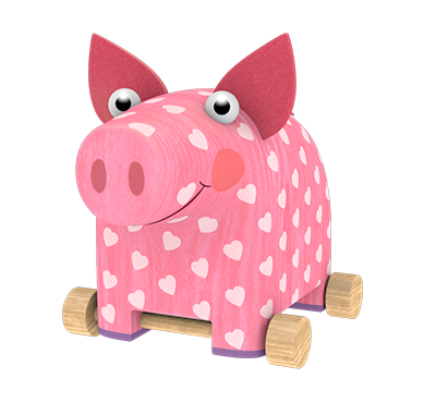 Piggy Oink from «Woodventures»